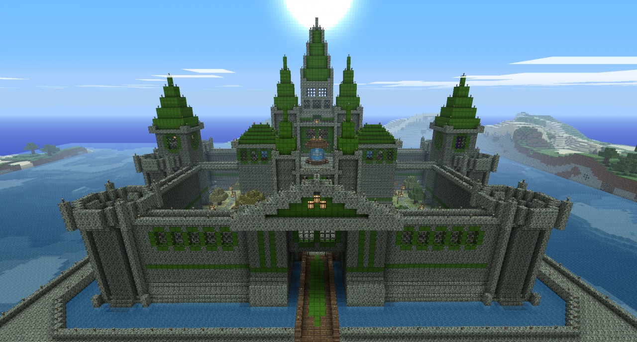 Image result for hyrule castle minecraft blueprints