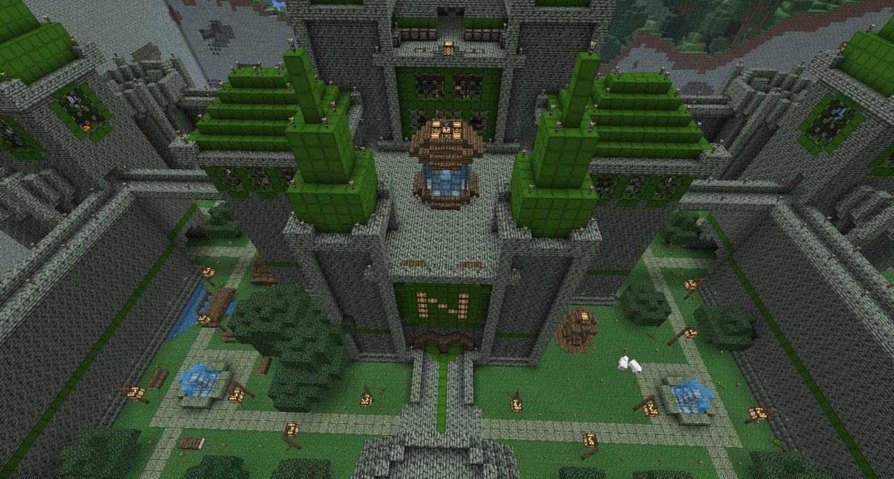 Hyrule Castle Minecraft Project