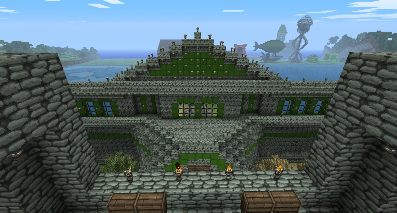 Hyrule Castle Minecraft Project