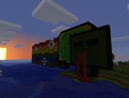 Nyan-Zombe Minecraft Map & Project