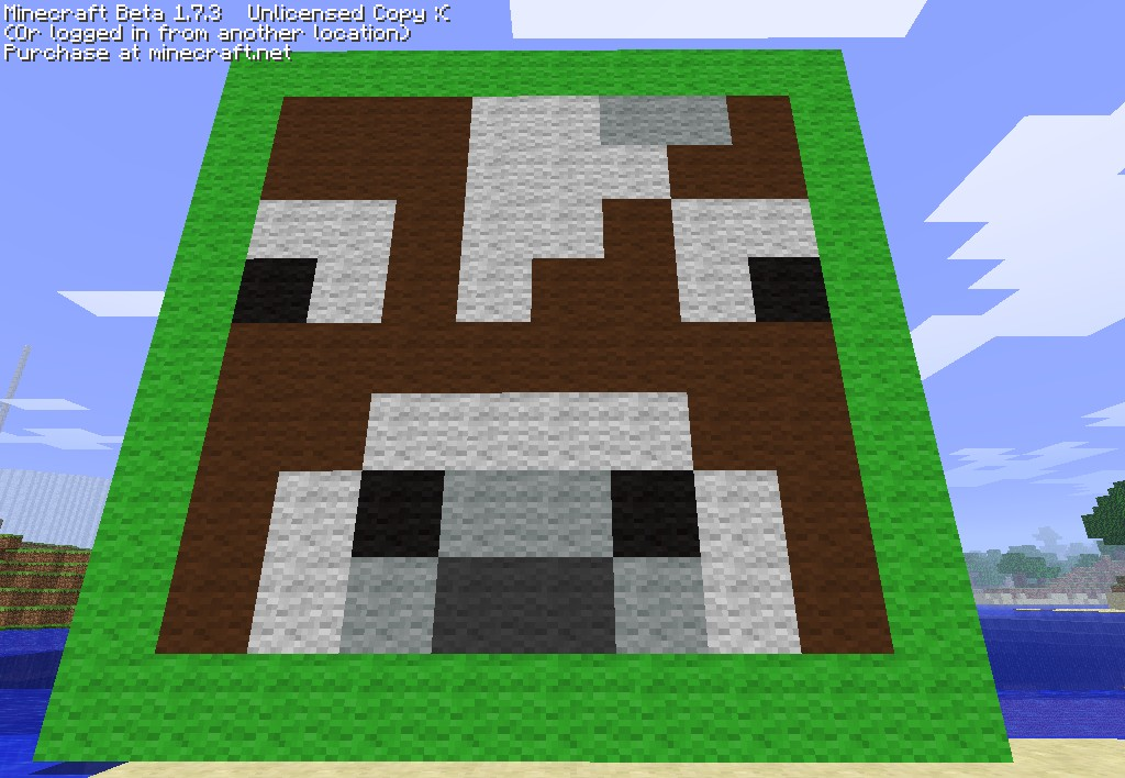 How to get cows inventory minecraft