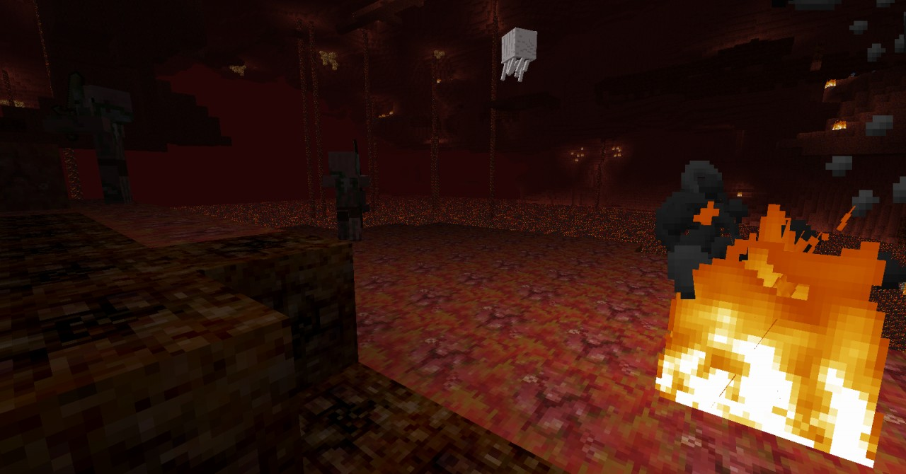 Nether texures have also been changed to different level elements from Sonic games.