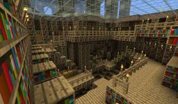 The lost library Minecraft Map & Project