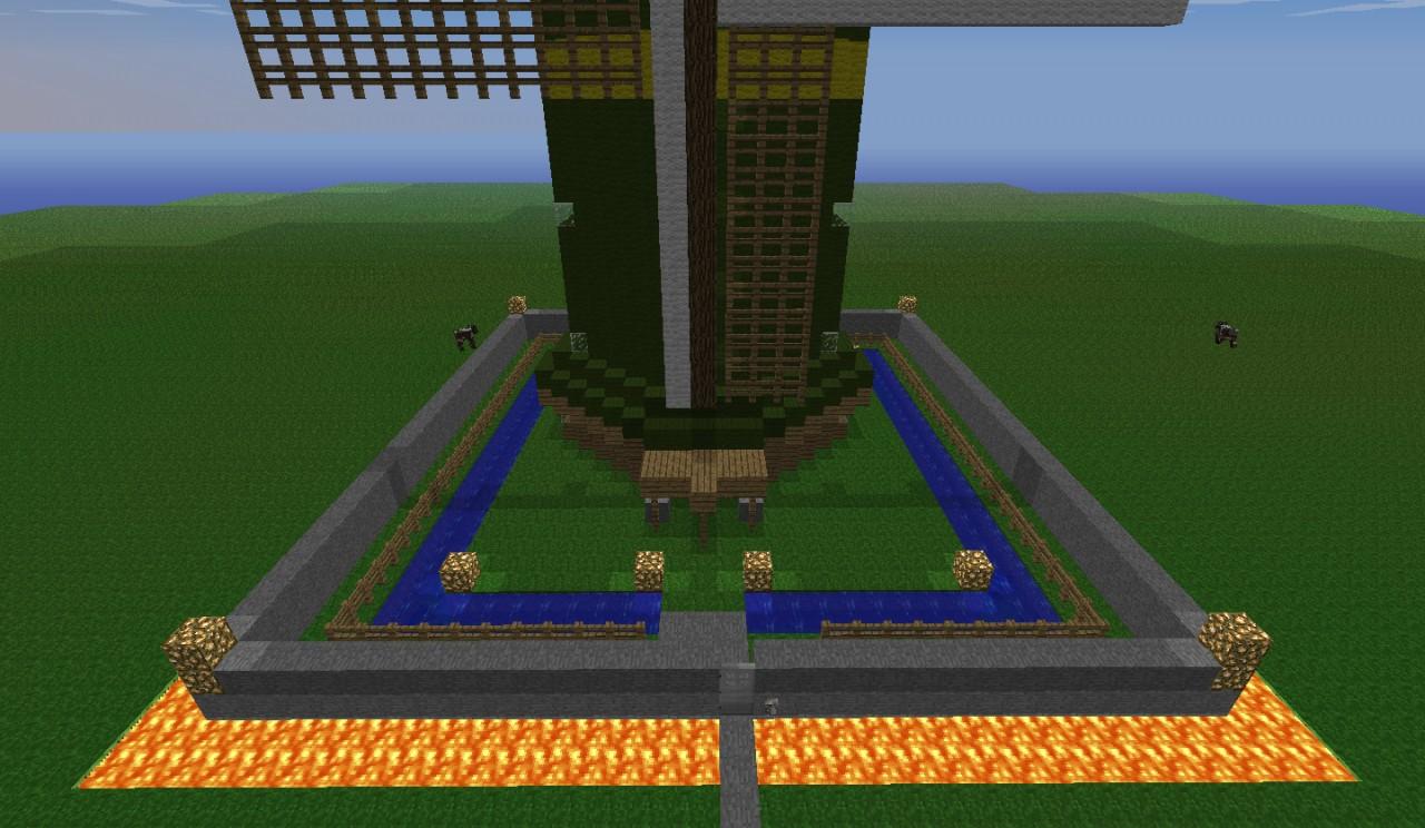 Huge Windmill Minecraft Project