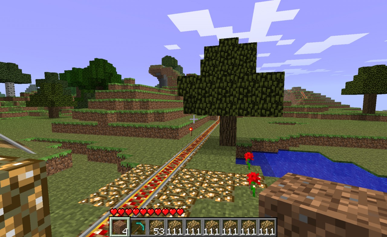 2 Roller Coasters in 1 Download With Lava Fall Minecraft ...