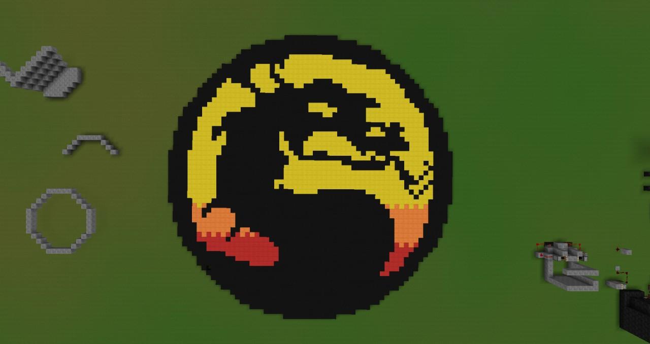 Mortal Kombat Symbol Minecraft Project