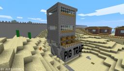 Pig Trap 13.200 Pork p/h Minecraft Project