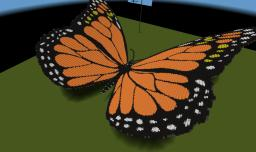 Monarch and Frost Butterfly Minecraft Project