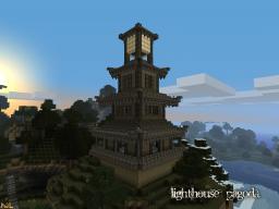Lighthouse Pagoda Minecraft Map & Project