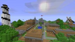 Montag Ville (1.7 Out Dated!) Minecraft