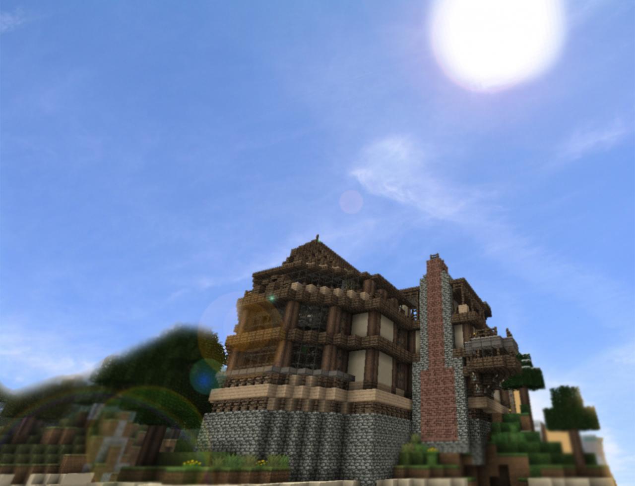 Chateau de resquer minecraft project - Chateau de minecraft ...