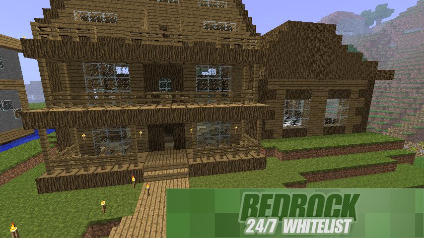 ★Bedrock [Clans|24/7|Survival|30slot]★ Minecraft Server