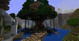 Battlefield: World Tree, for CTF play Minecraft Project