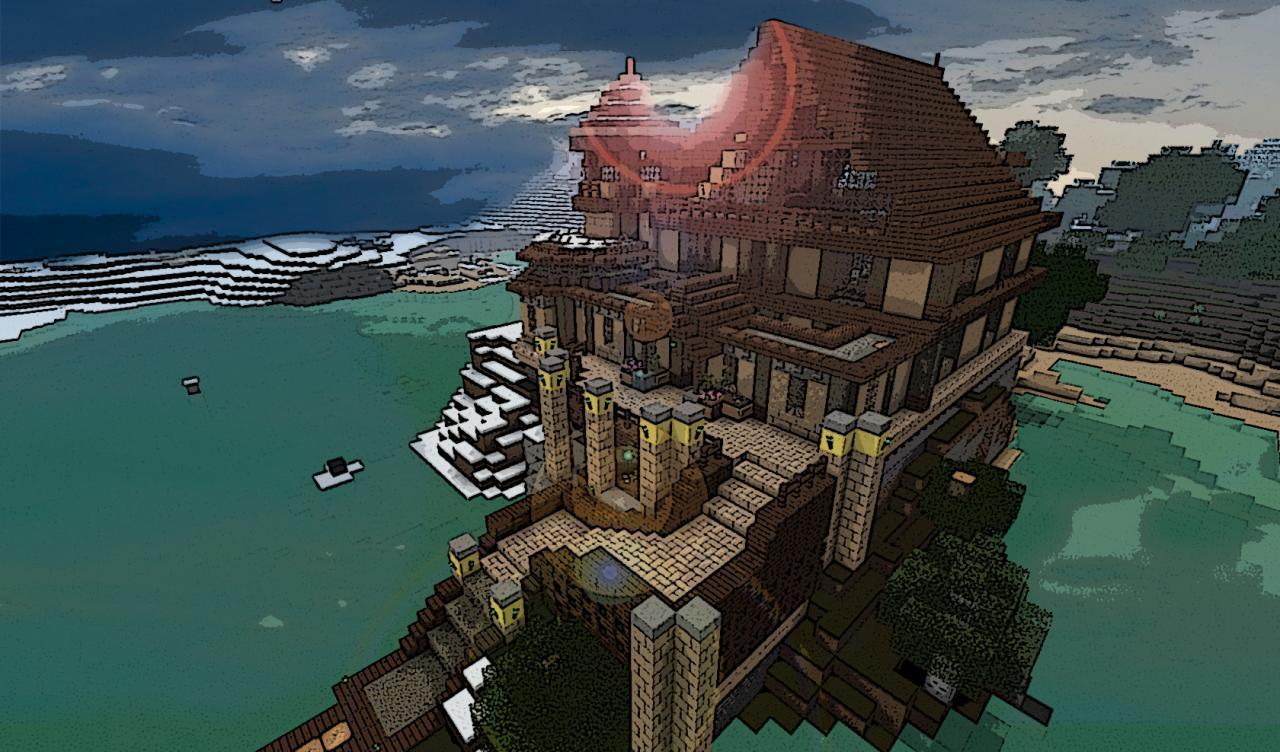 Chateau De Resquer Minecraft Project