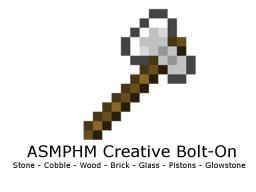 ASMPHM Creative Bolt-On v1.1 BUG FIXED Minecraft Mod