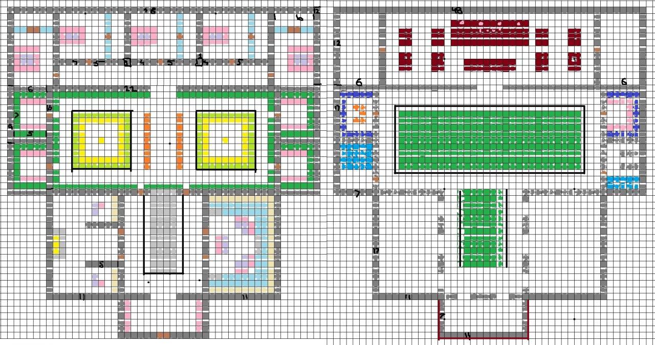 Bowsers Castle Minecraft Blueprints Step