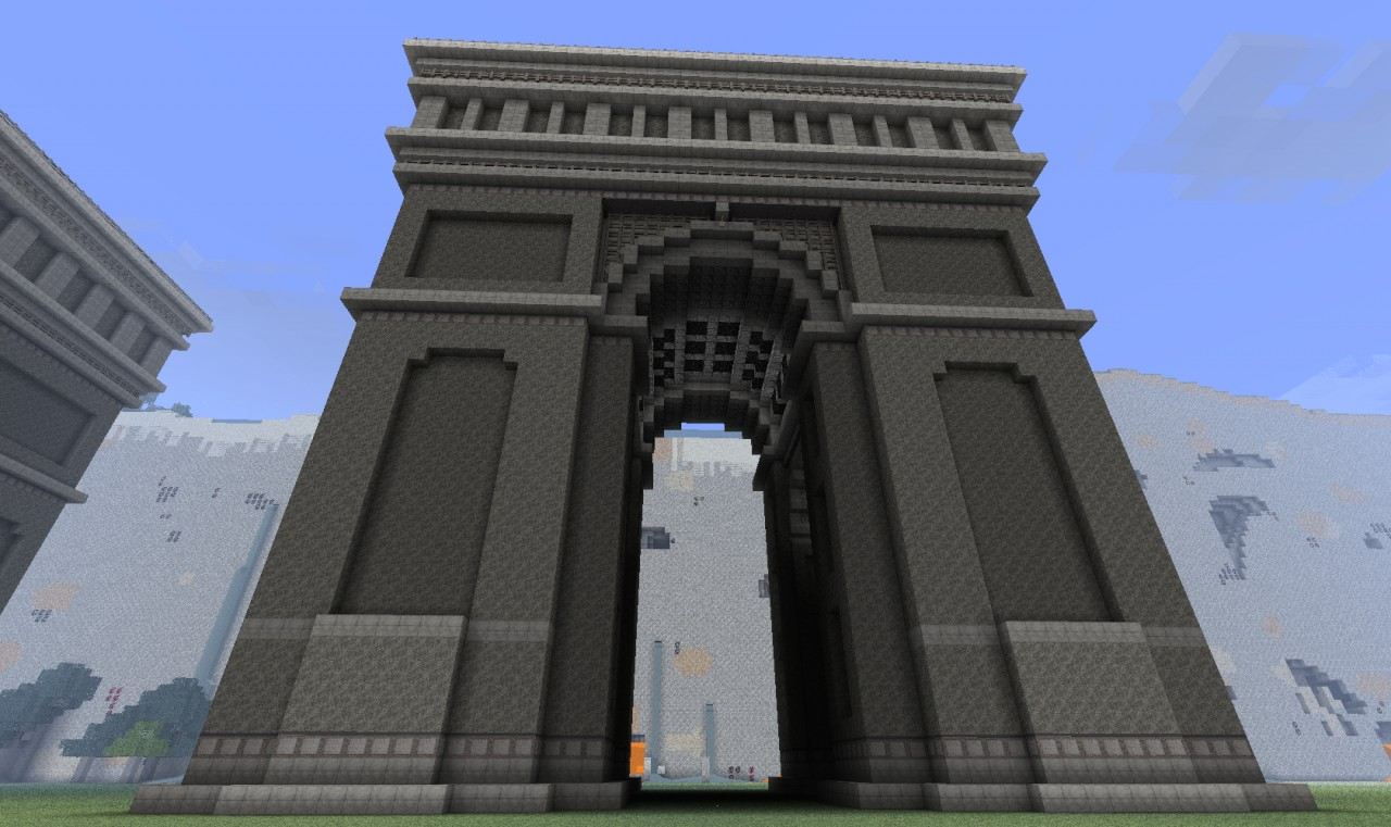 minecraft house designs planet with Arch Of Enlightenment on Arch Of Enlightenment together with Little Nice Back Yard also Jamziboy Minecraft Gothic Style Manor further Gondolin as well 32x32 Plot Build.