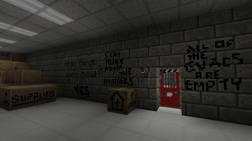 Safe Rooms (with graffiti!)