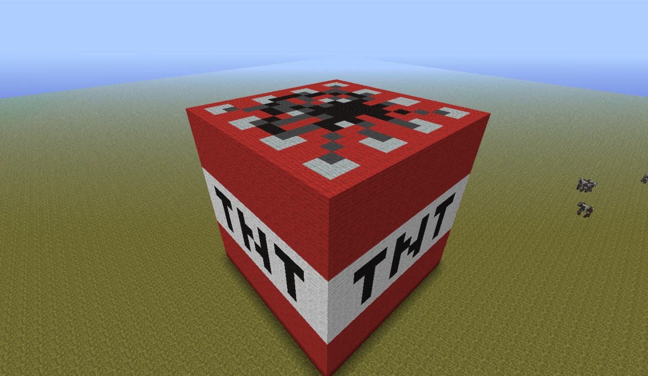 Minecraft Tnt Build