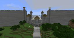 Shadow of Israphel inspired wall gate Minecraft Map & Project