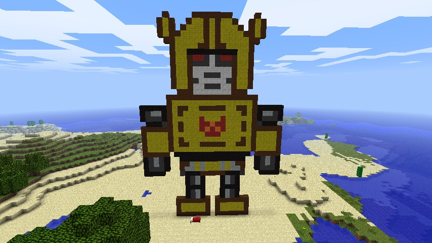 Bumblebee Transformers Minecraft Project