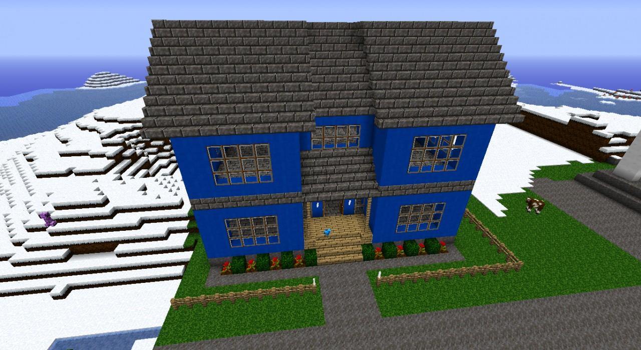 Cobblestone Minecraft House