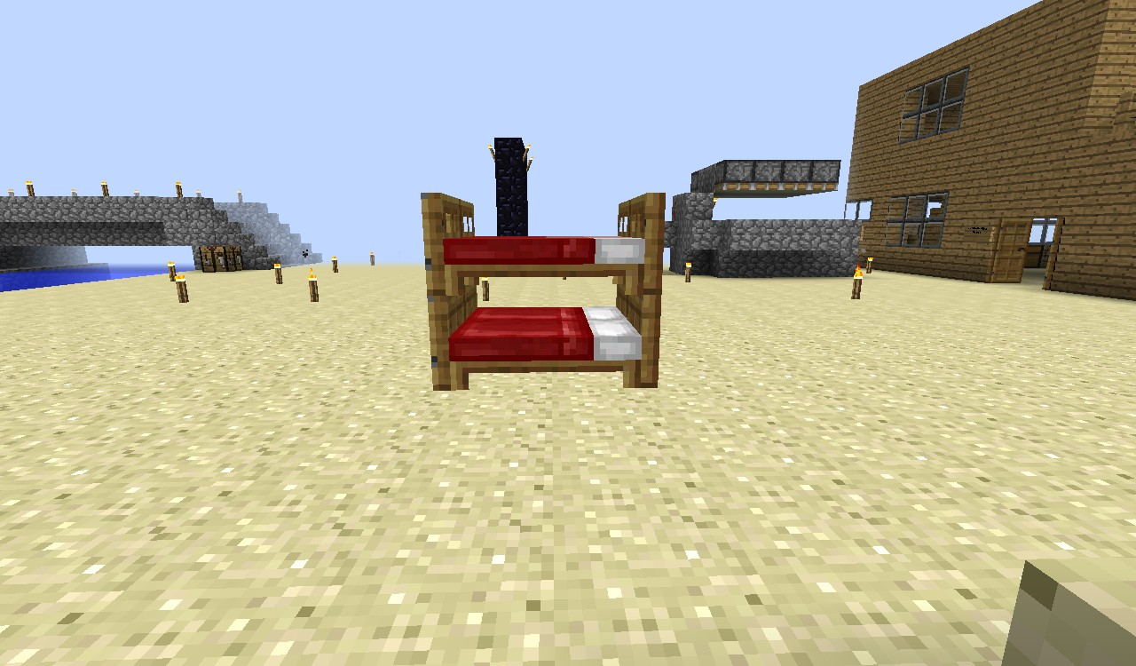 - Bunk Beds Minecraft Project