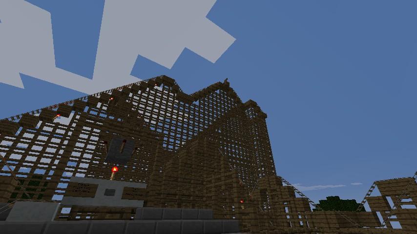 Minecraft Amusement Park Ideas Creeperworld