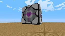 Companion cube ^_^ Minecraft Map & Project