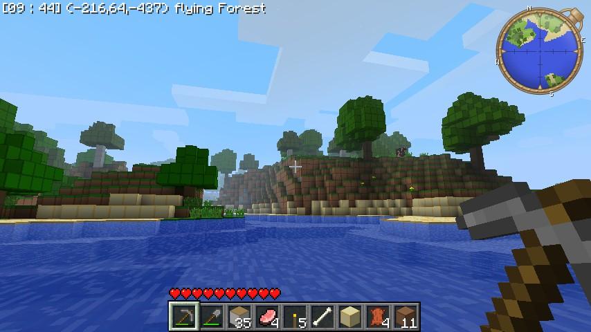 Environment Planner Minecraft Texture Pack