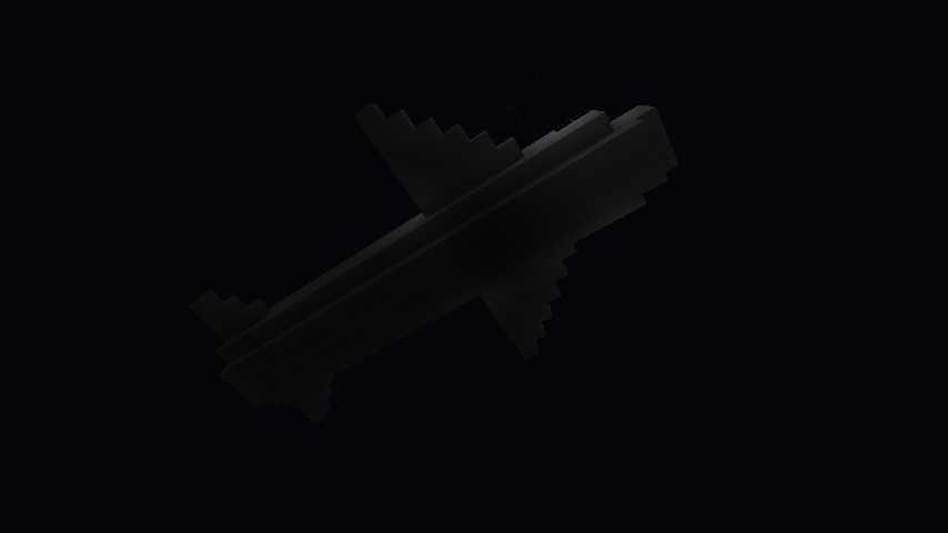 The Plane, From Below (A Lot Of Mobs Spawn Here!)