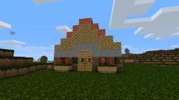 A beautiful Summer home Minecraft Project