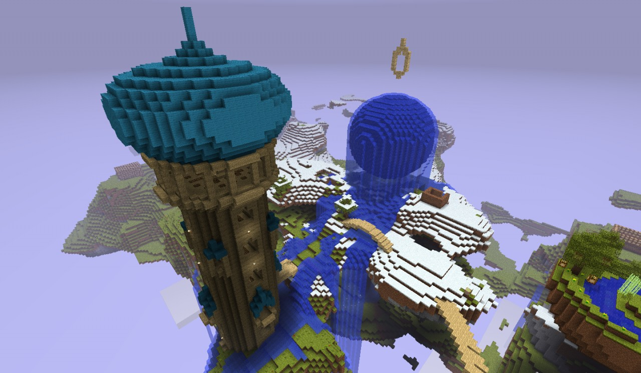 Slightly edited with bridges, water flow and minor changes to the dome.