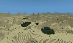 Custom Terrain: Desert Expanse Minecraft Project
