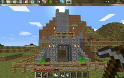 Manor/Castle House (All resources mined) Minecraft Map & Project