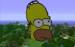 Homer Simpson Minecraft