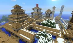 Zach's asian city Minecraft Map & Project