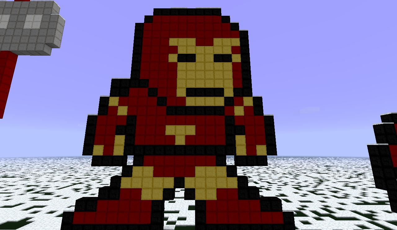 How To Craft Iron Man Suit In Minecraft