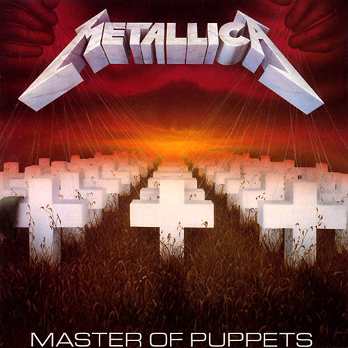 Metallica- Master of Puppets album cover Minecraft Project