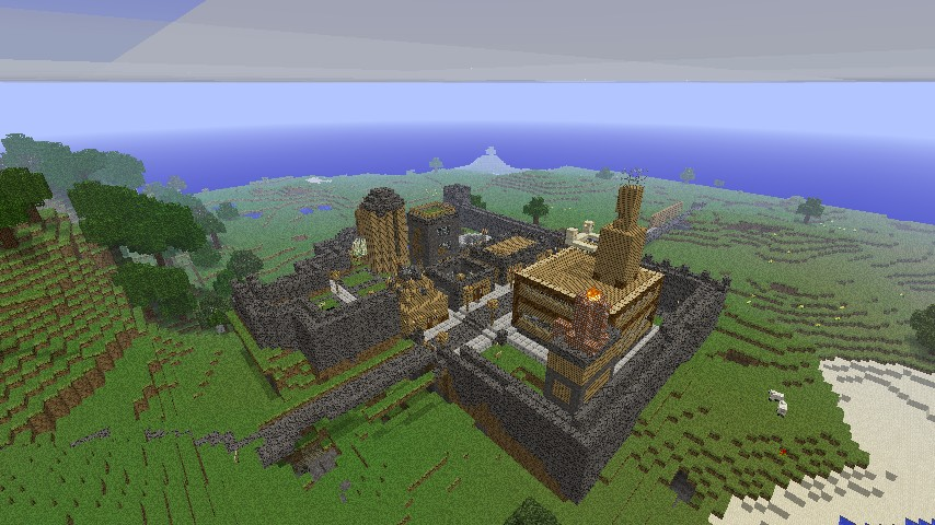 An old human citadel.