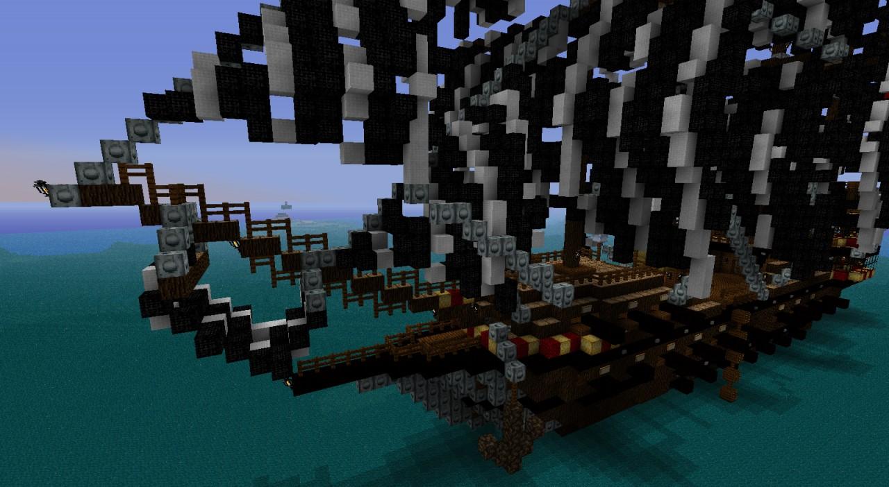 карта для майнкрафт пиратский корабль #5