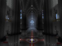 Cathedrale Notre dame du creep Minecraft Map & Project