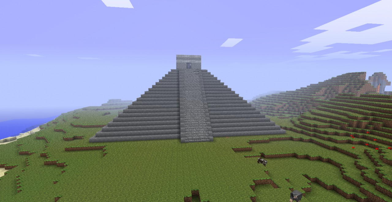 Aztec Pyramid Minecraft