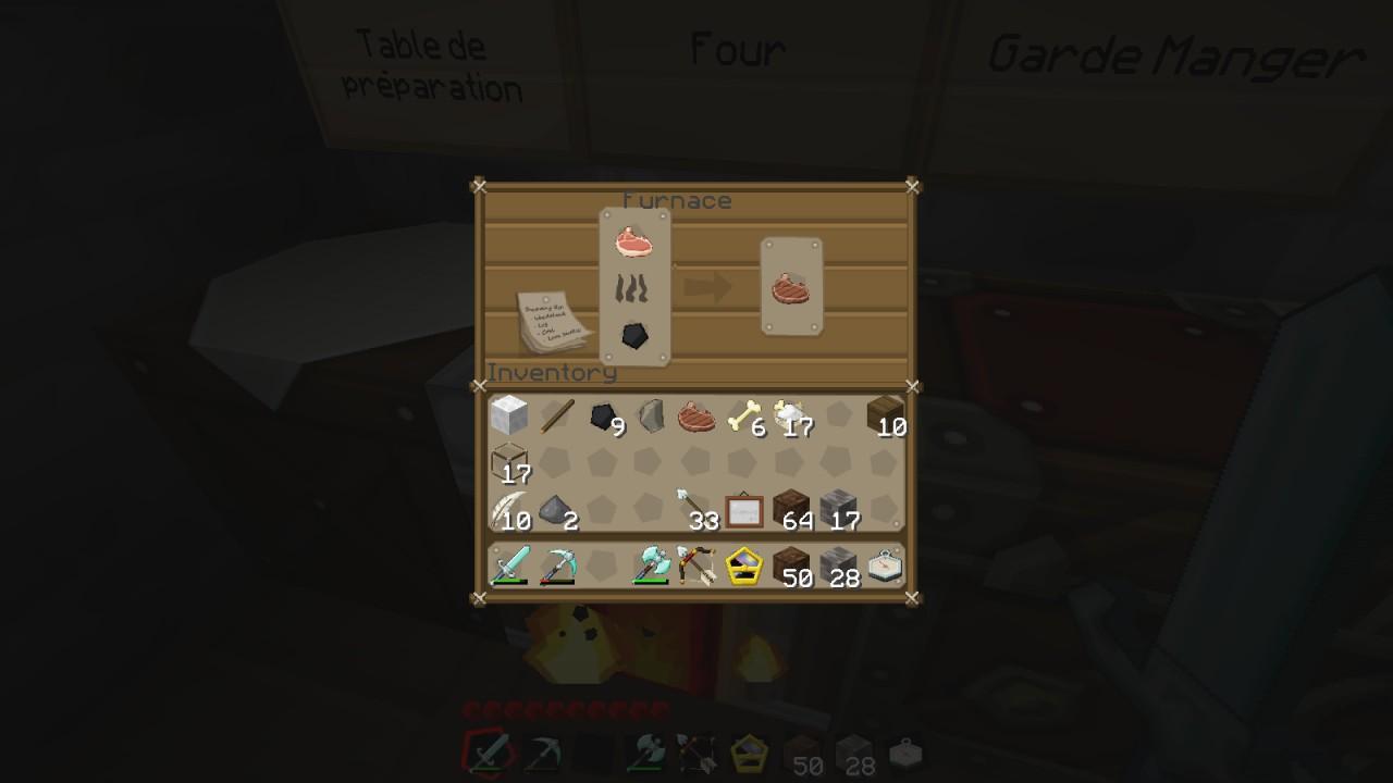 Furnace GUI (Full GUI support)