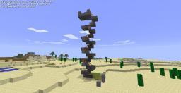 Minecart Elevator Minecraft Map & Project