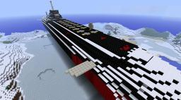 Typhoon Class Missile Submarine (type 941) Minecraft Map & Project