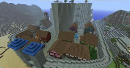 Minas Tirith ( In my Fantasy and idea ) Minecraft Map & Project