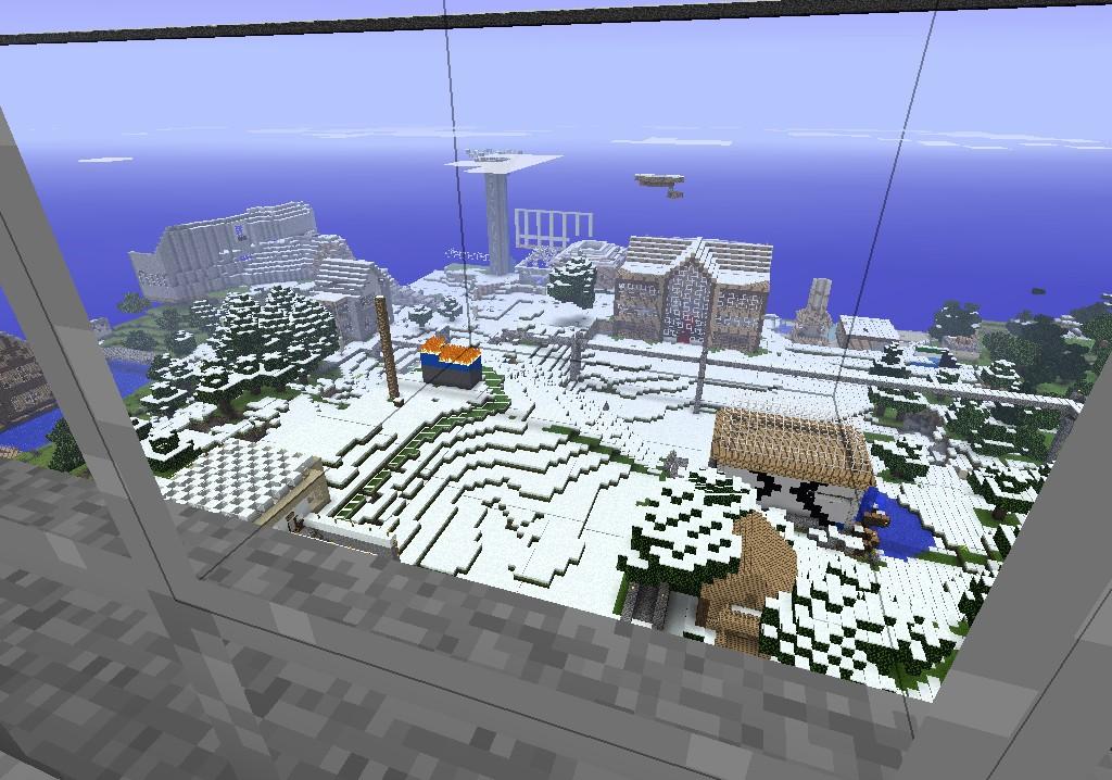 Titan Tower Minecraft Project