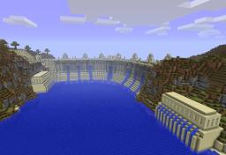 Minecraft Dam Recreation (Piston Powered) Minecraft