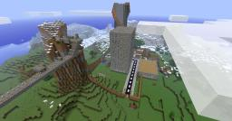 a city Minecraft Map & Project